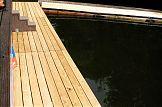 Bootsteg Wasserskistrecke Potsdam